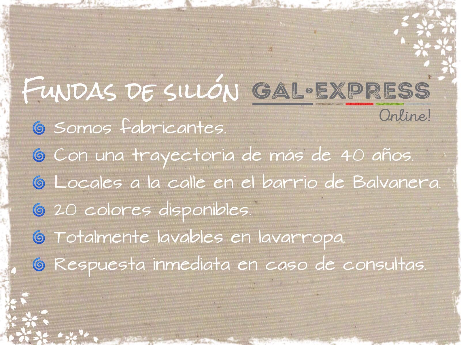 Fundas de Sillón: Datos generales
